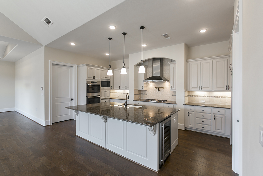 Custom New Home Kitchen in Cypress, TX