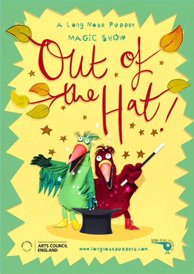 'Out of the Hat' by Long Nose Puppets