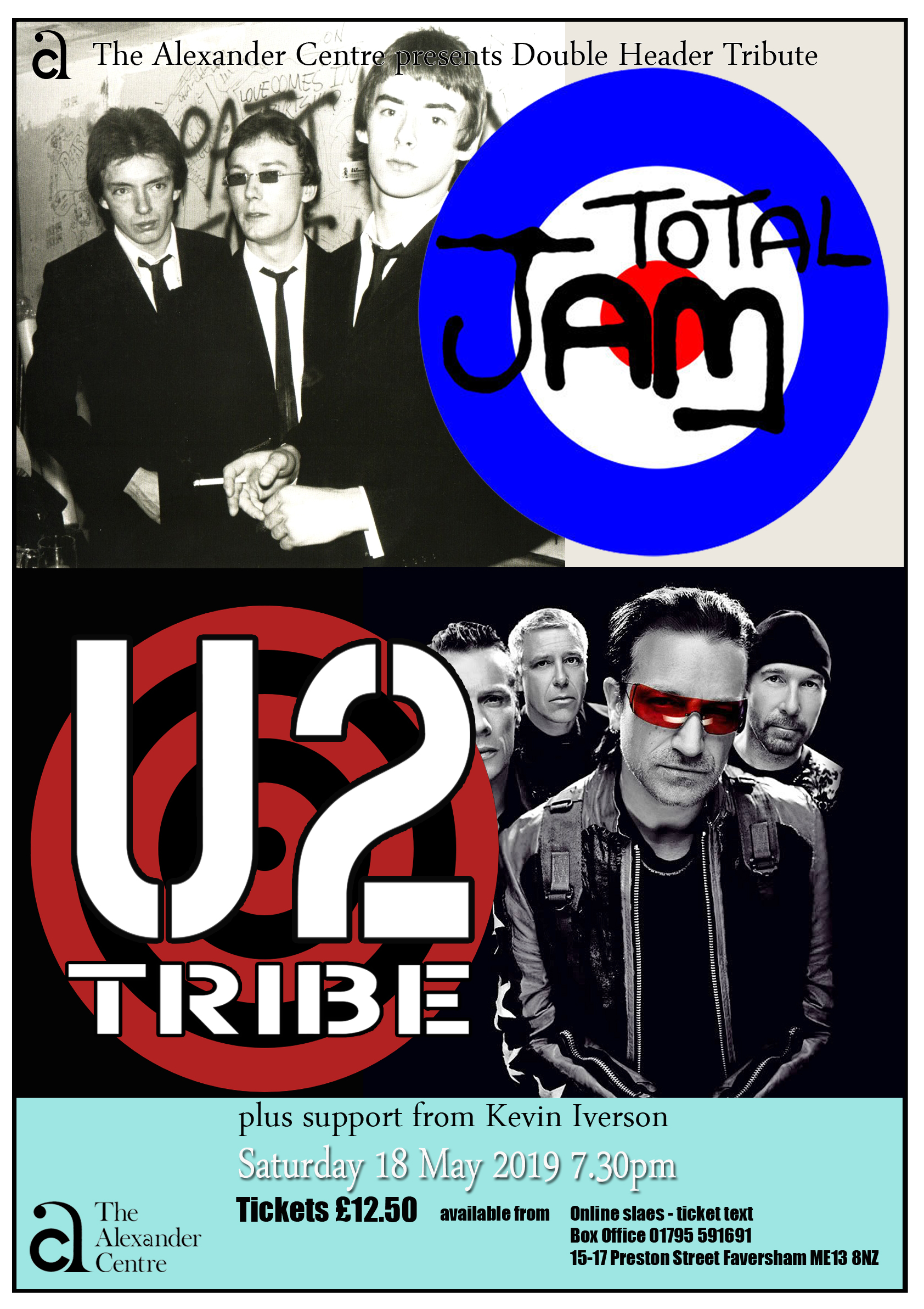 TOTAL JAM + U2 TRIBE Double Header Tribute