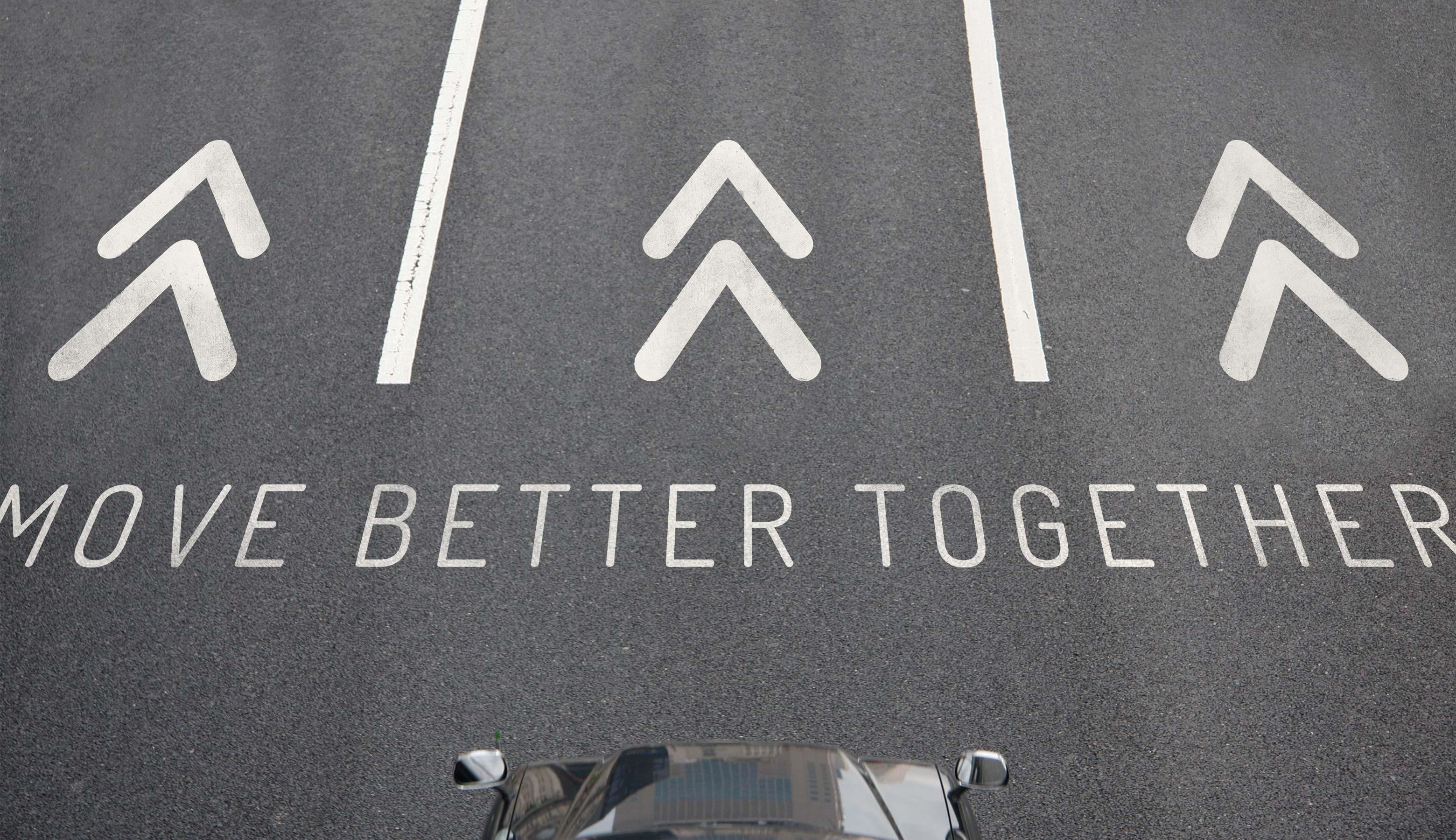 branding lacomotion street signage