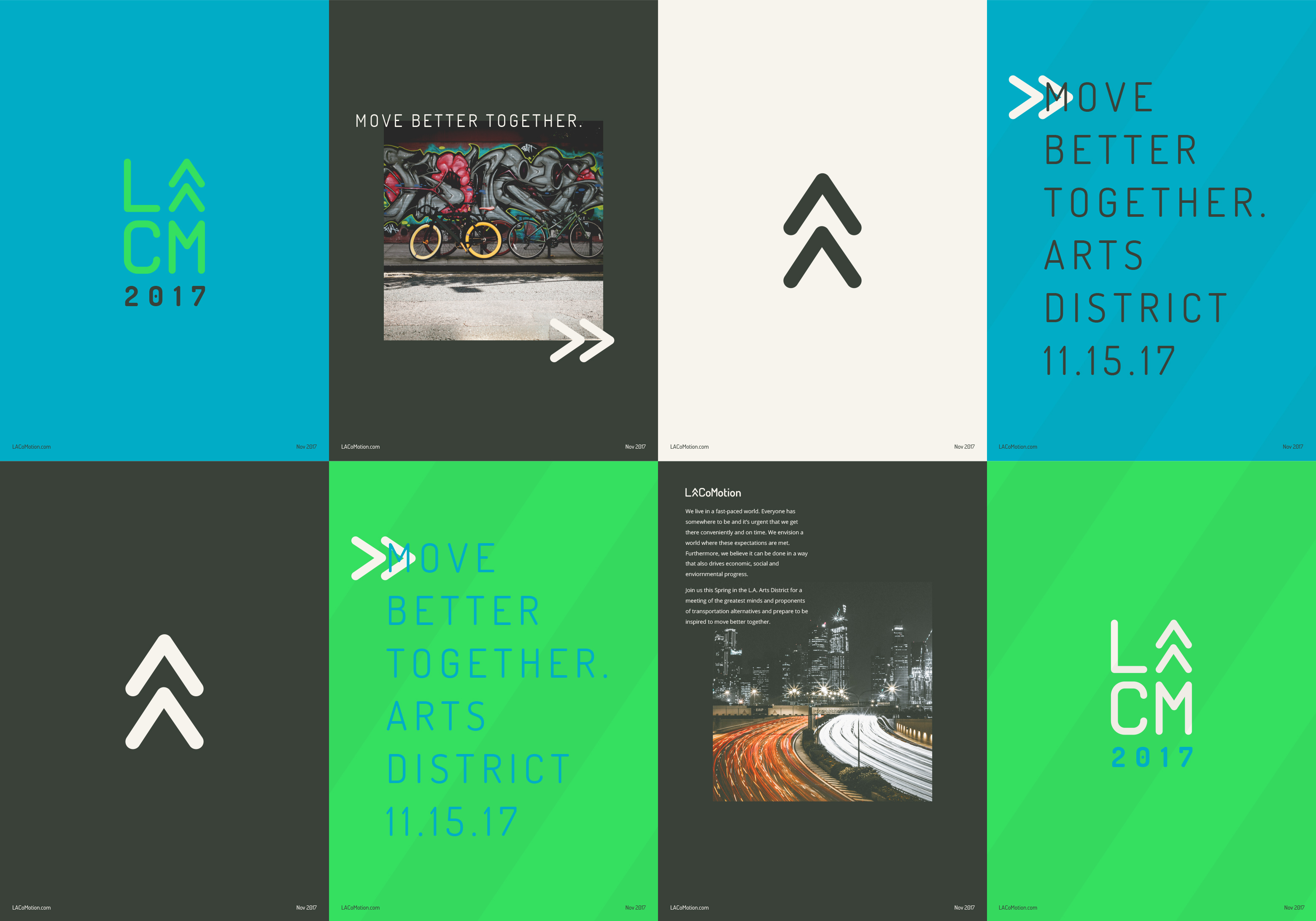 branding lacomotion posters