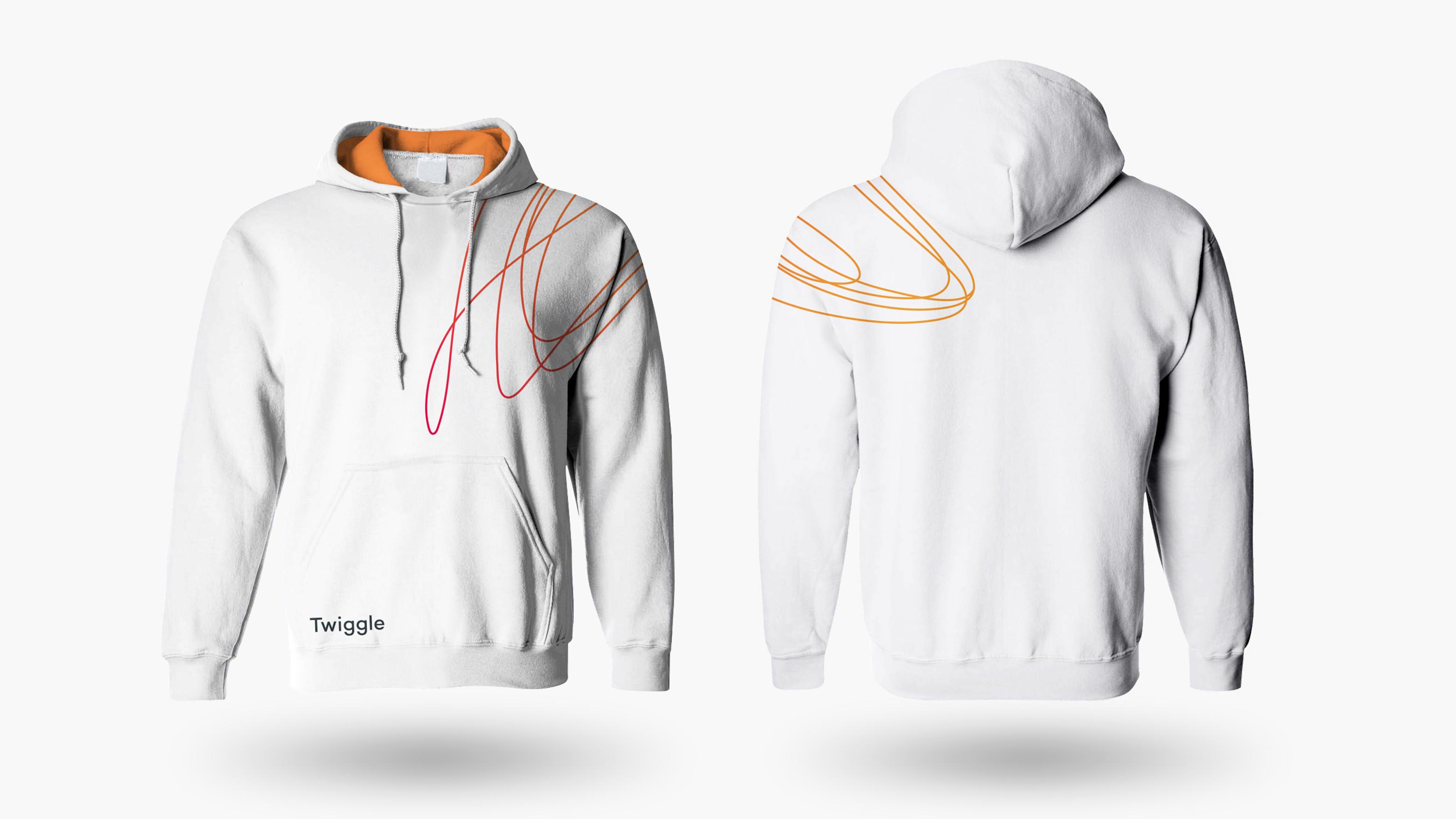 branding twiggle hoodie