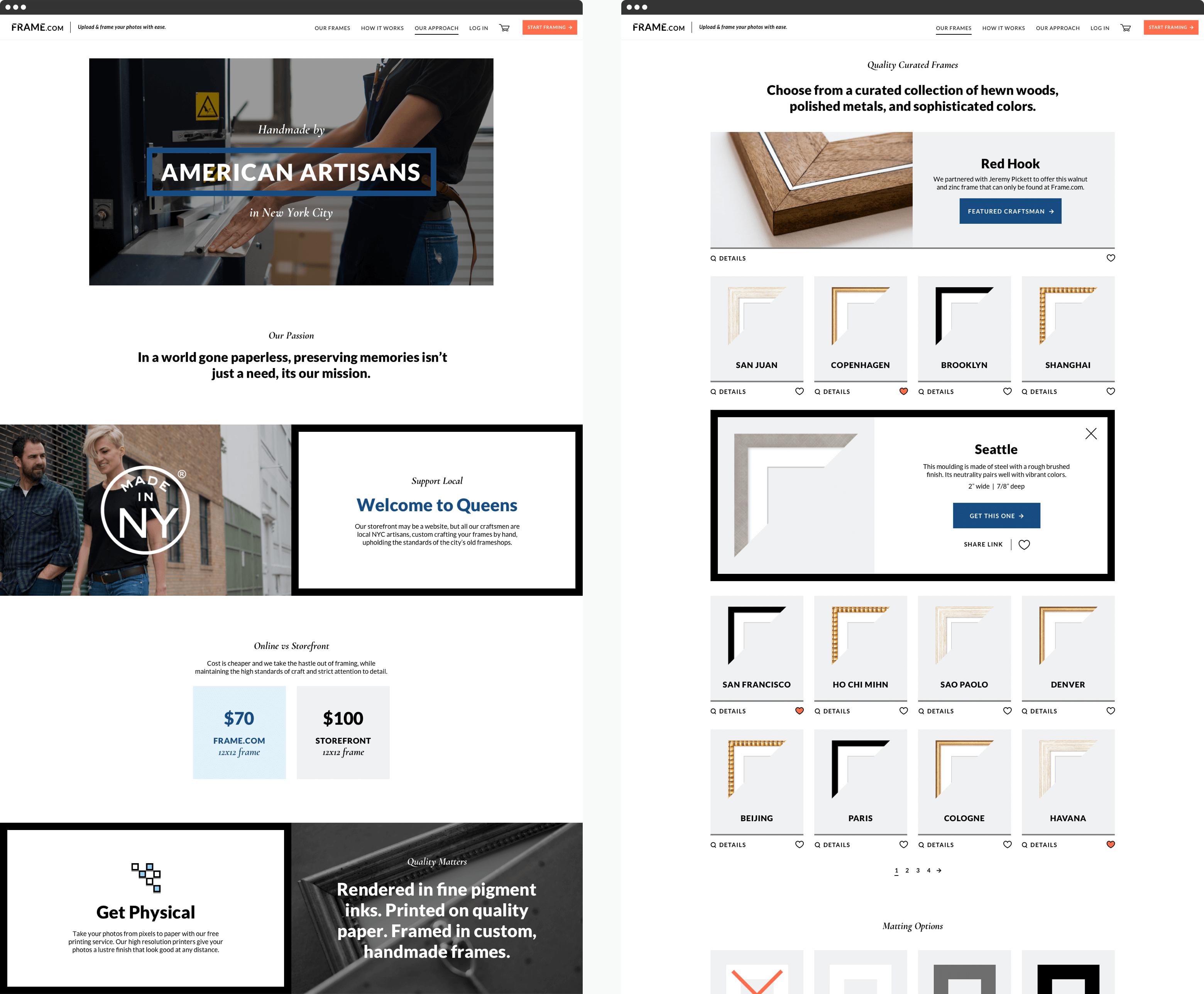 Web Design DevBootcamp location pages