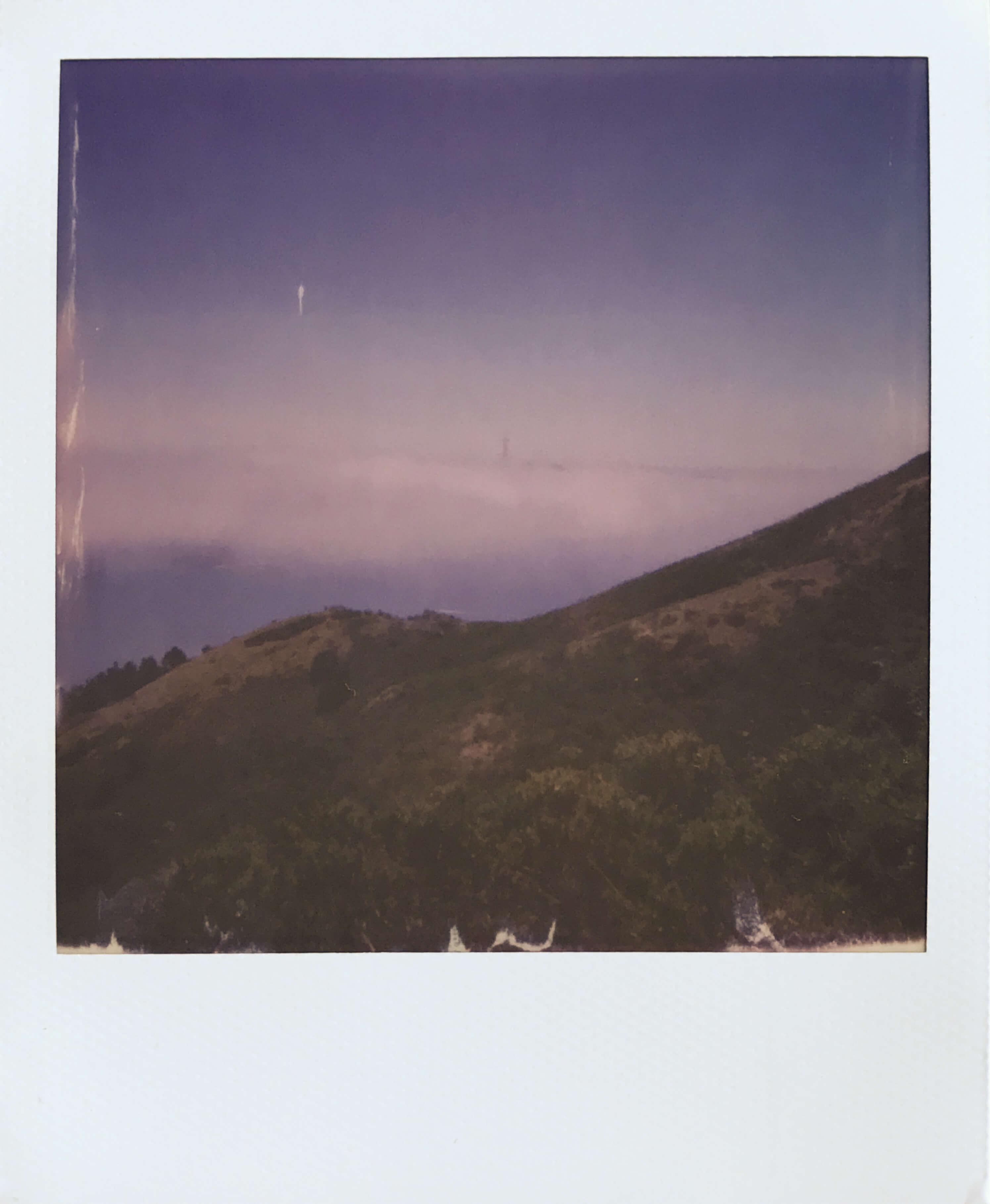 Fog from the Marin Headlands