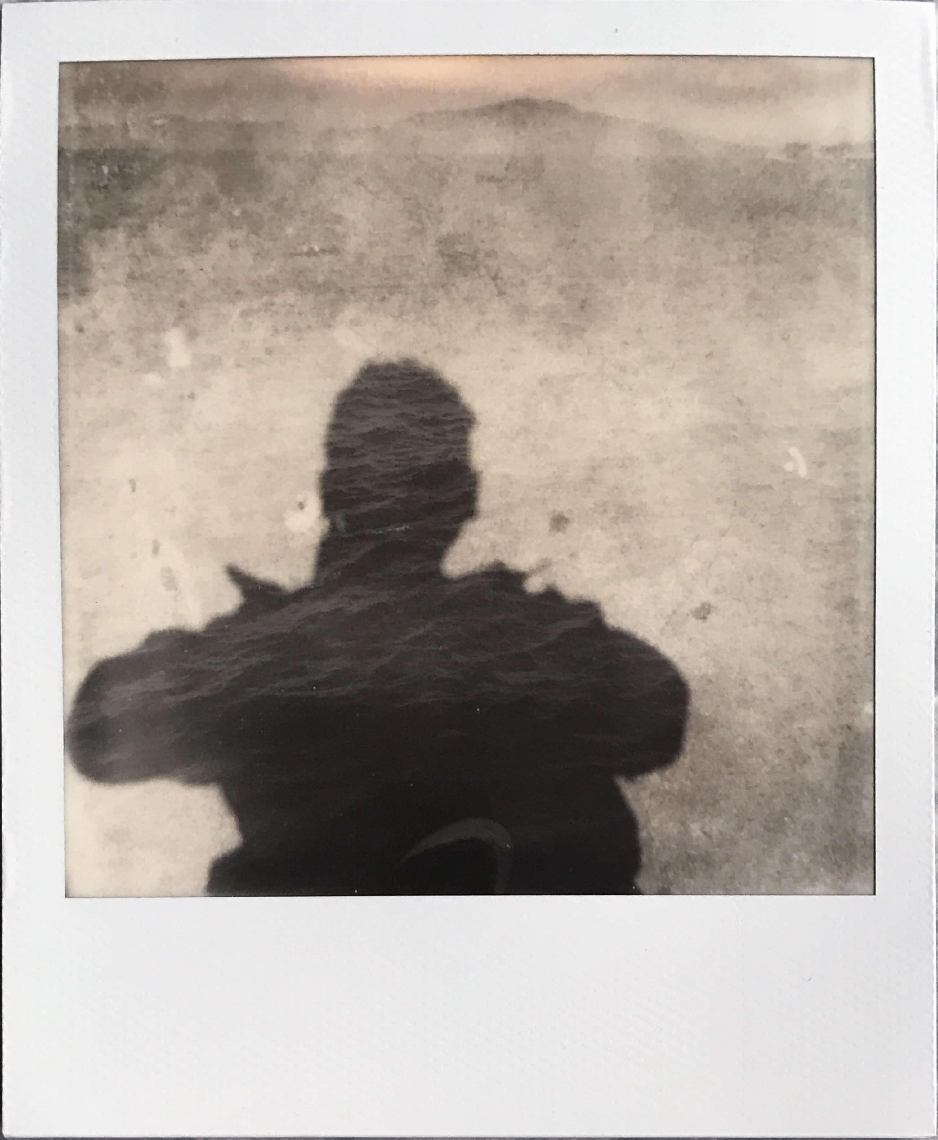 Self portrait double exposure