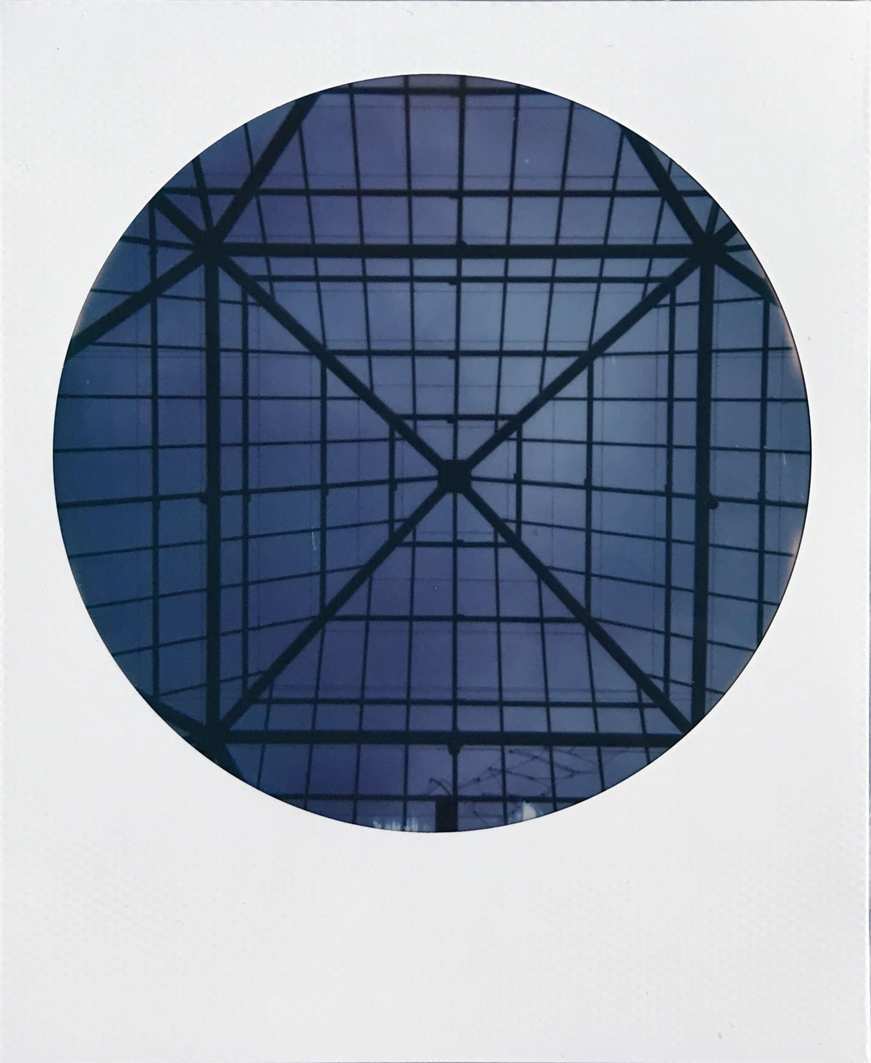 Gazebo roof at the Walker Art Center