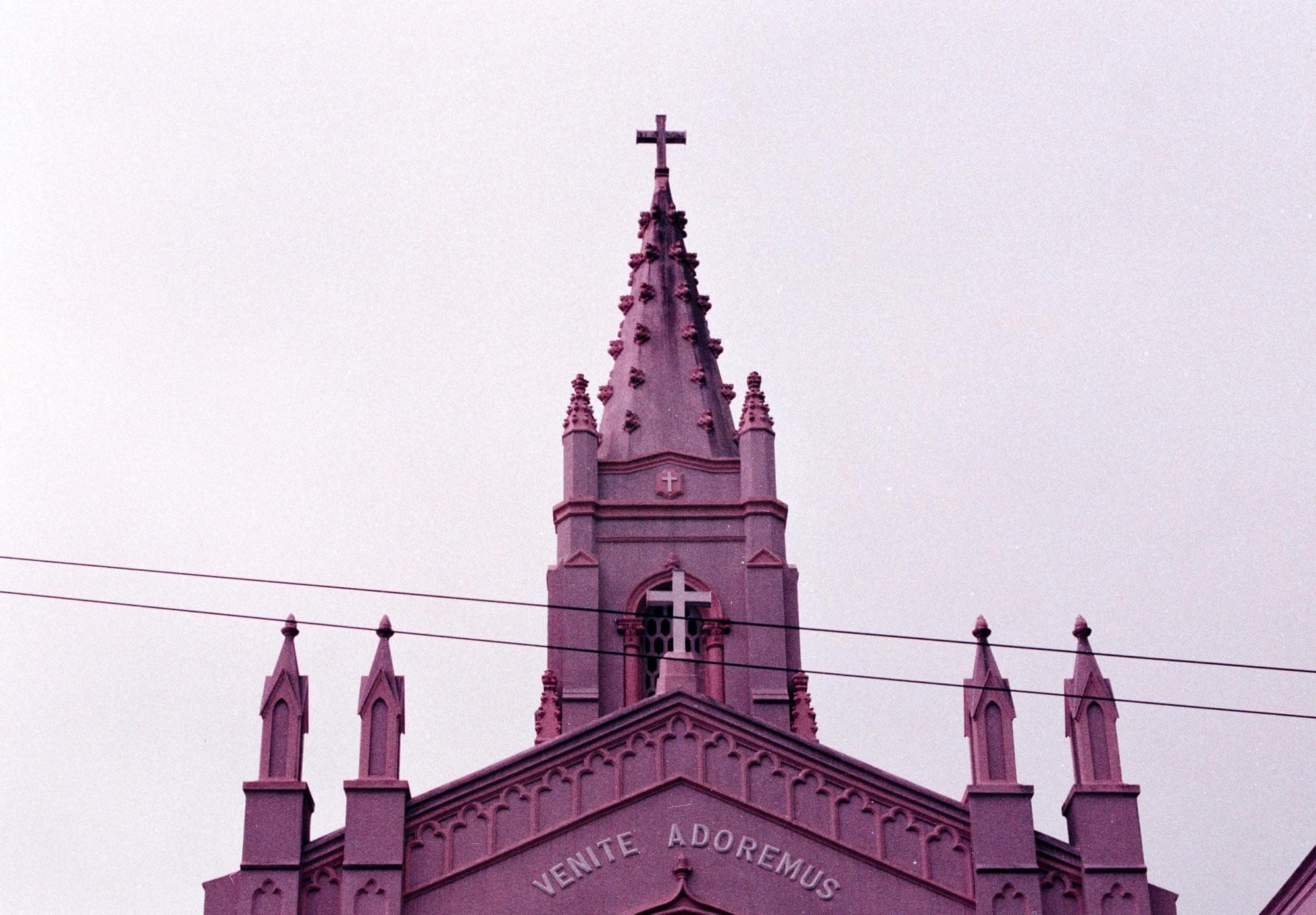 Pinkish Church on Ashbury
