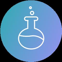 test tube icon d