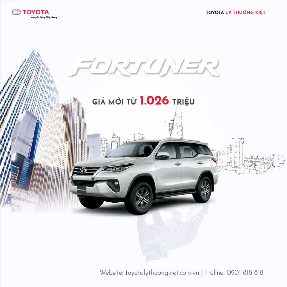 giá xe fortuner 2018
