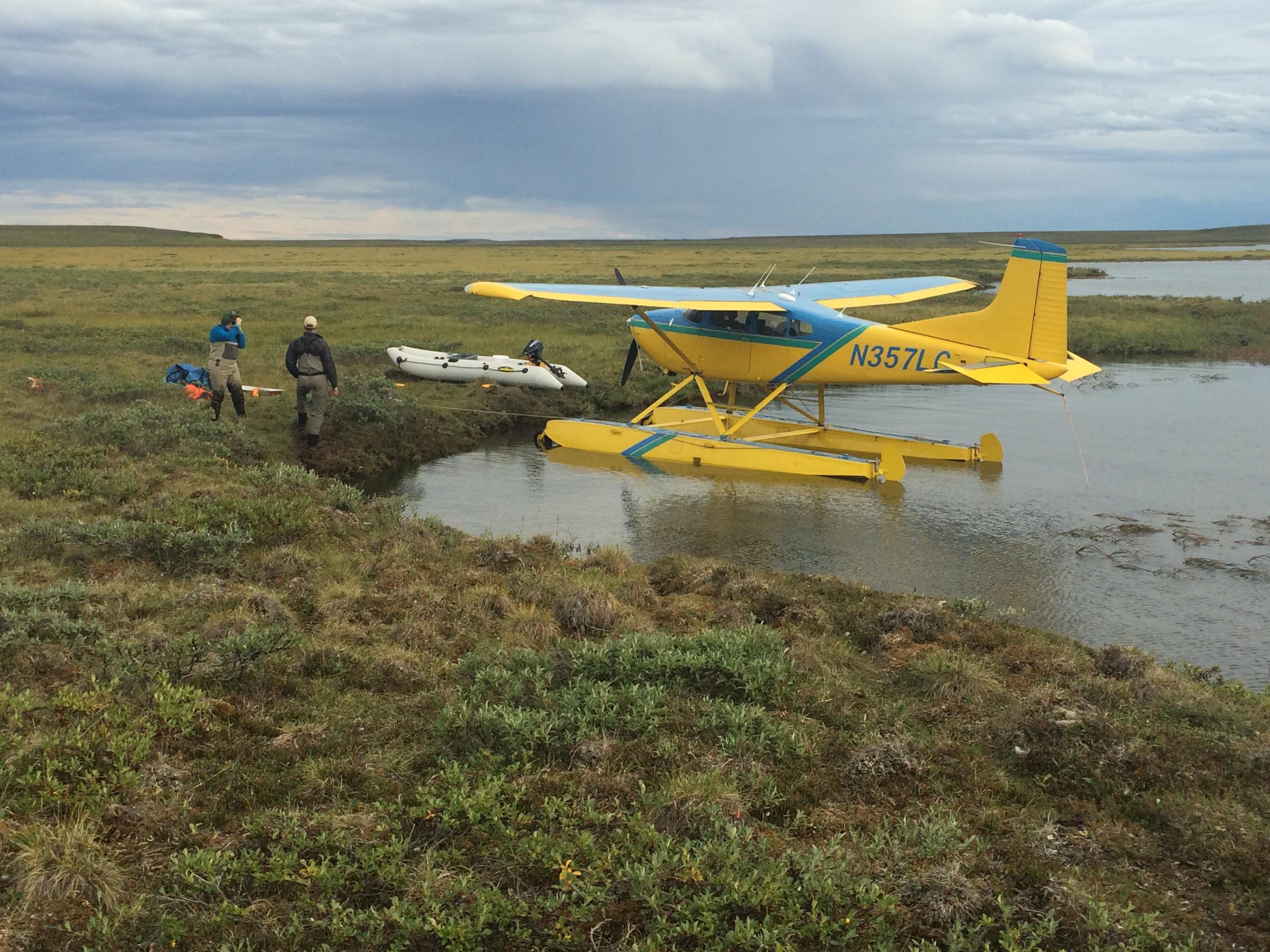 Contract Air Service all over Alaska