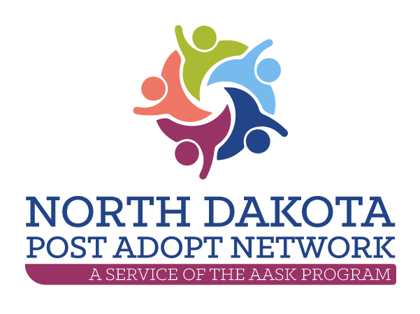 North Dakota Post Adopt Network Logo Image