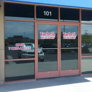 Image of Commercial Window Tinting of a Tarbell Realtor office in Murrieta.