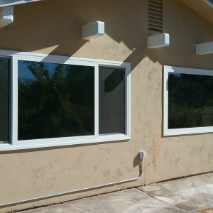 Image of Temecula home with Madico reflective bronze film.