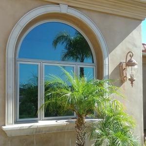 Photo of La Cresta, Murrieta home with light reflective grey window tint.