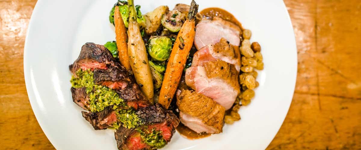 Meat & vegetables
