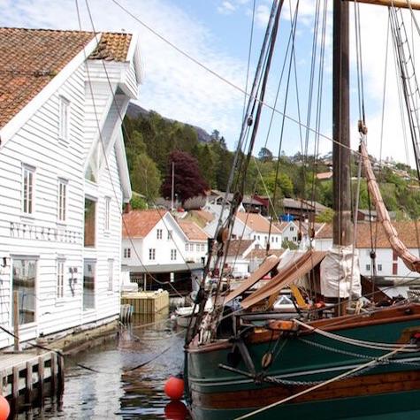 Bilde av havneområde