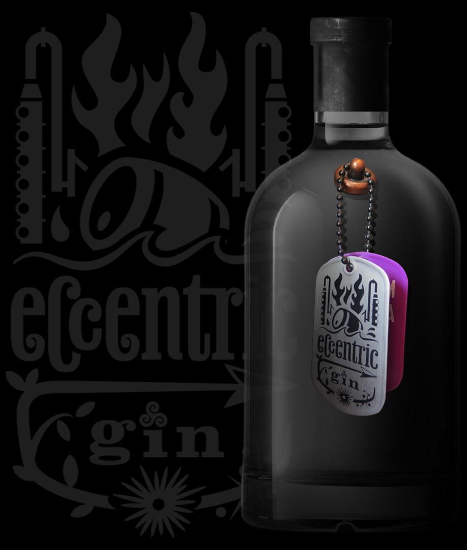 Eccentric Gin brand launch by Starke Creative