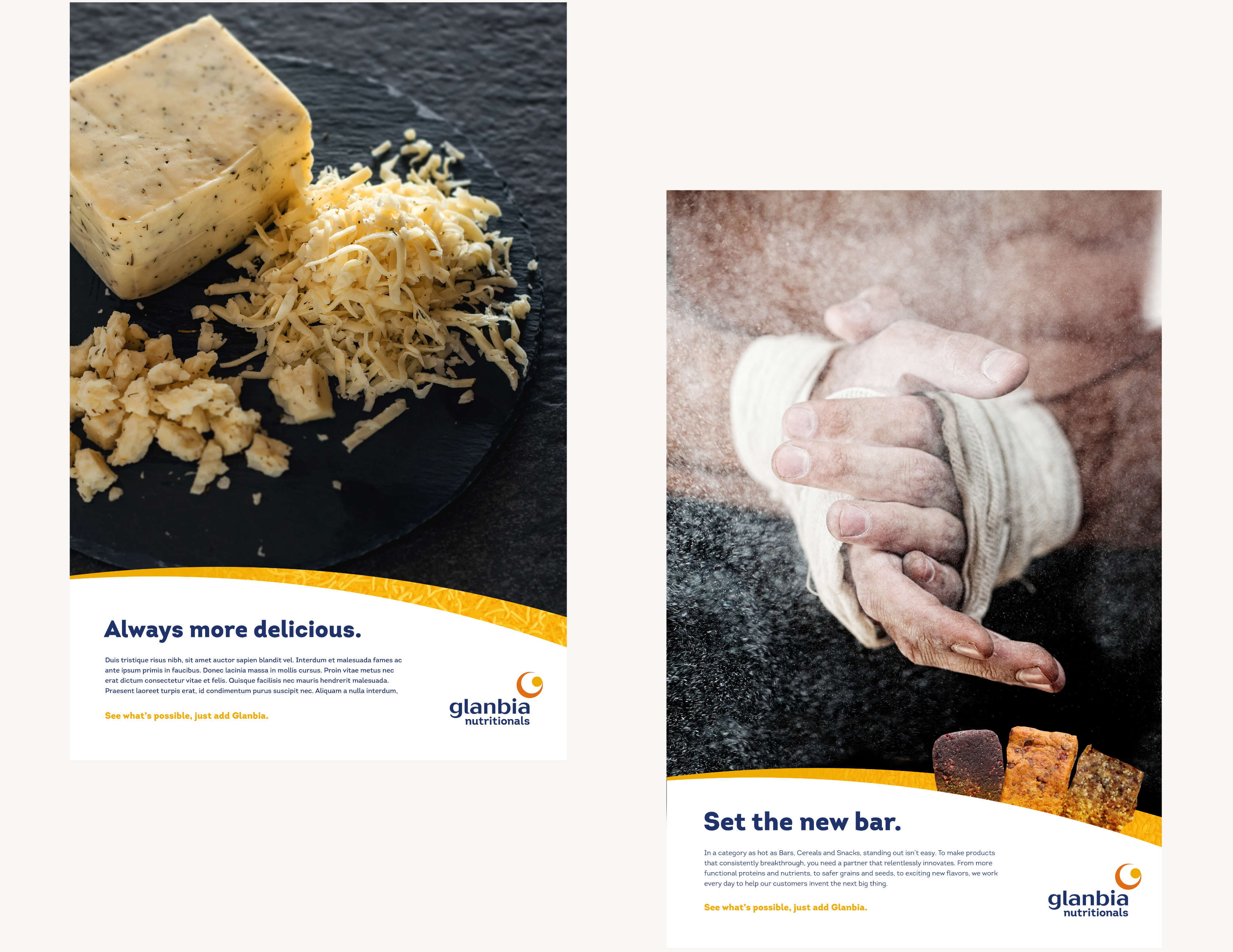 Glanbia Poster Flyers