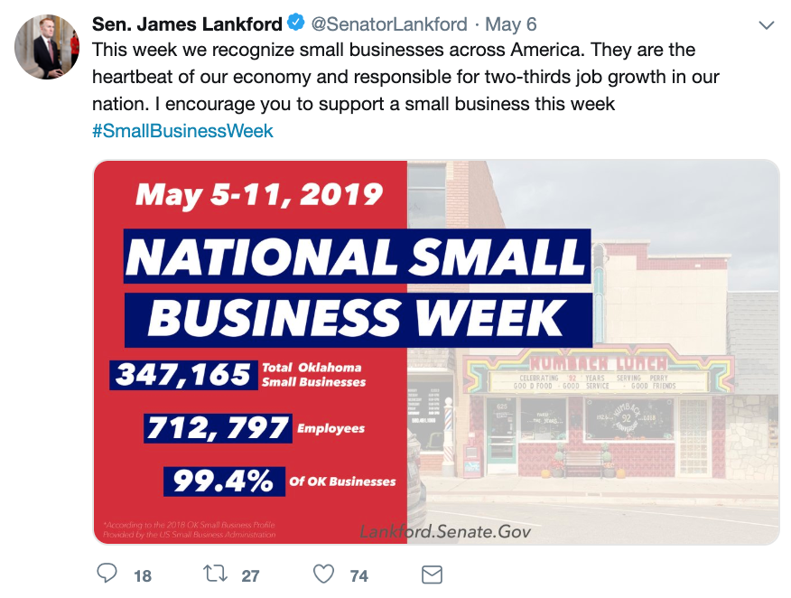 Tech At Work — Celebrating National Small Business Week