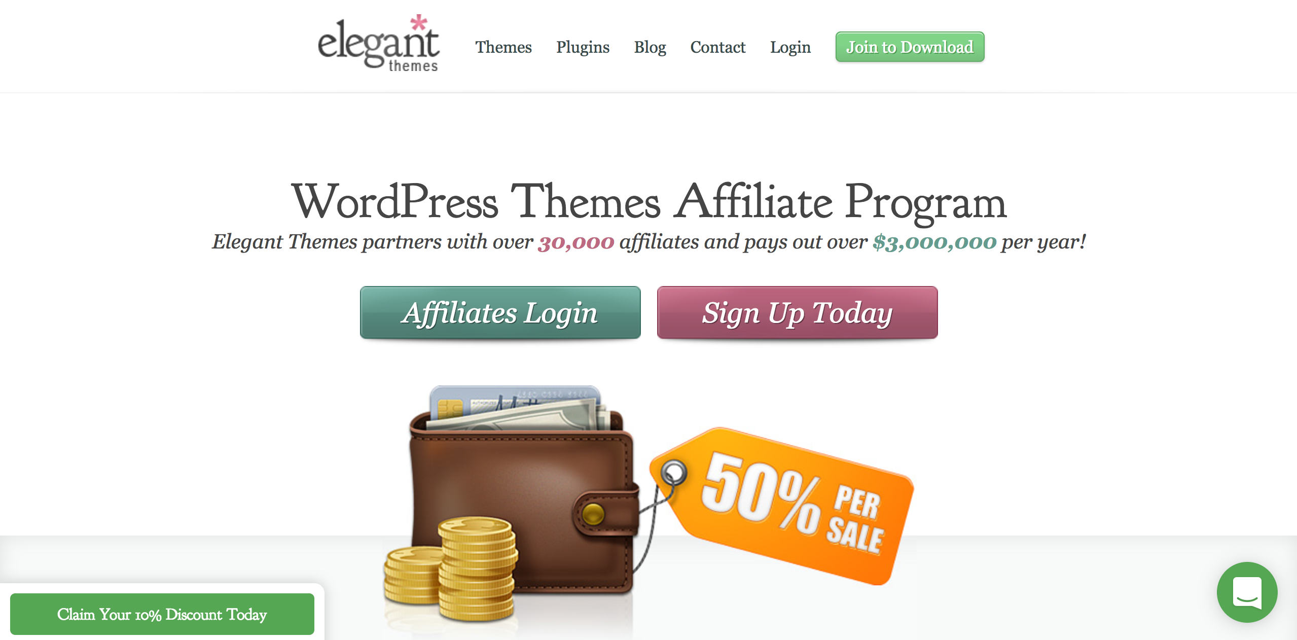 Elegant Themes Wordpress Affiliate Program