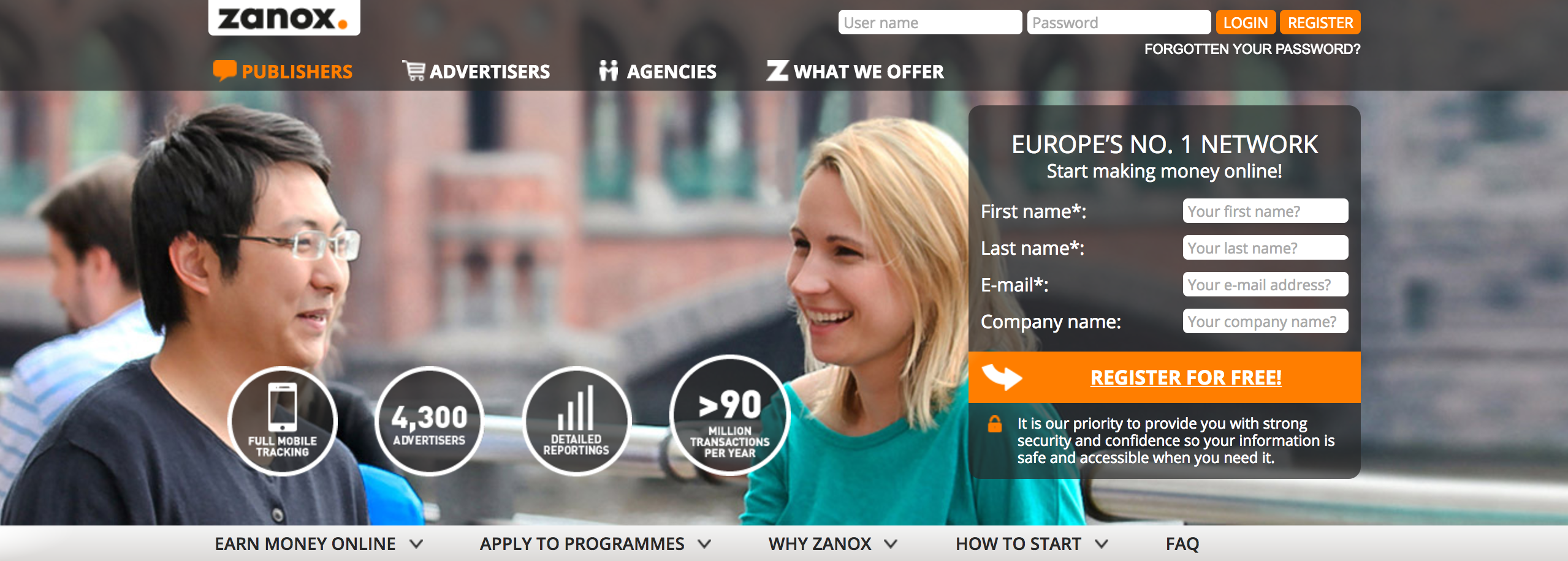 Zanox Network