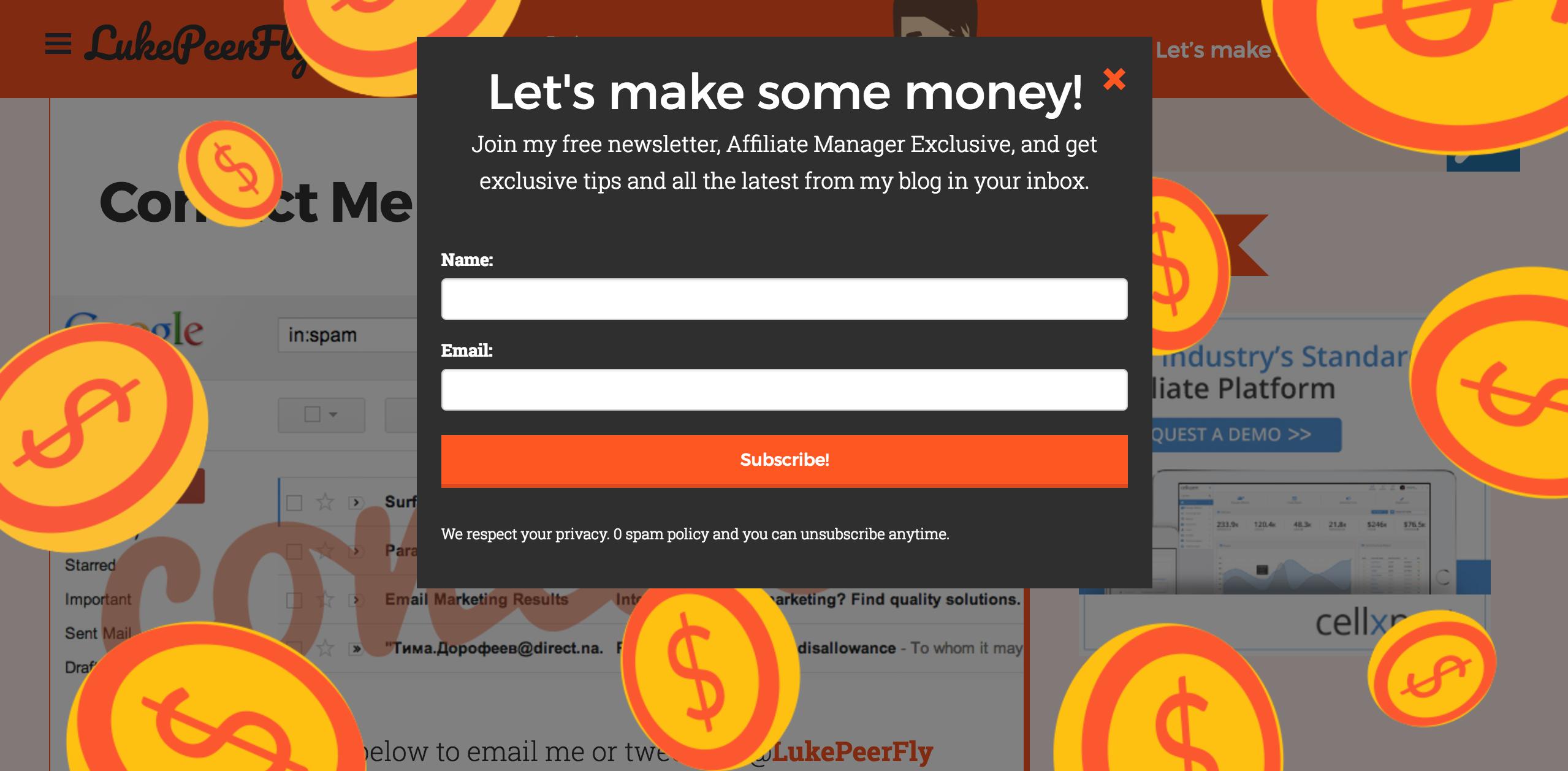 Luke Peerfly Affiliate Marketing Blog