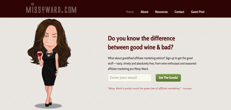 Missy Ward Affiliate Marketing Blog