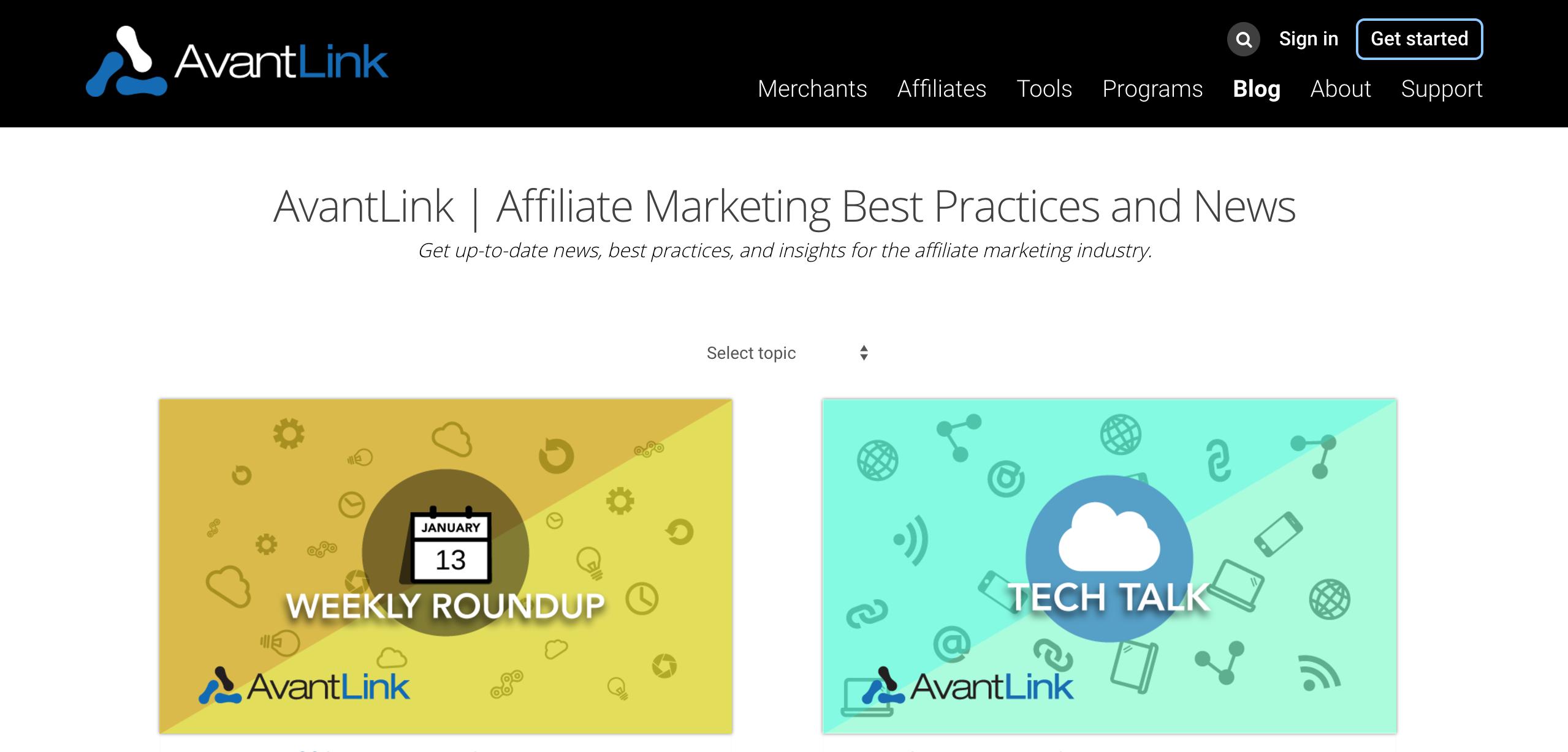 AvantLink Affiliate Blog