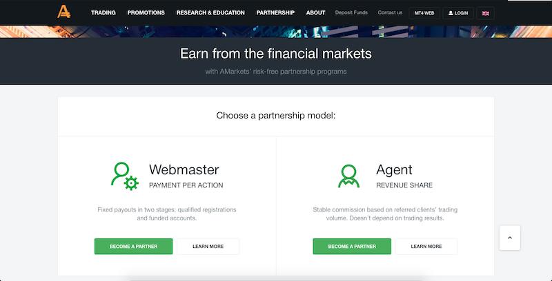 AMarkets Partnership Models