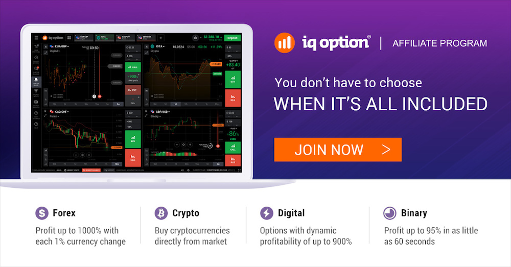 IQ Option Affiliate Program