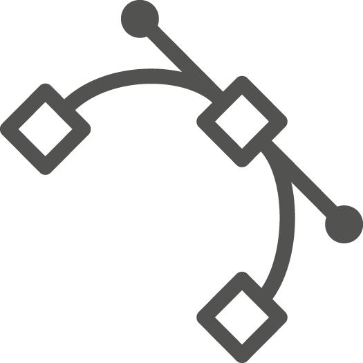 brand identity vector icon