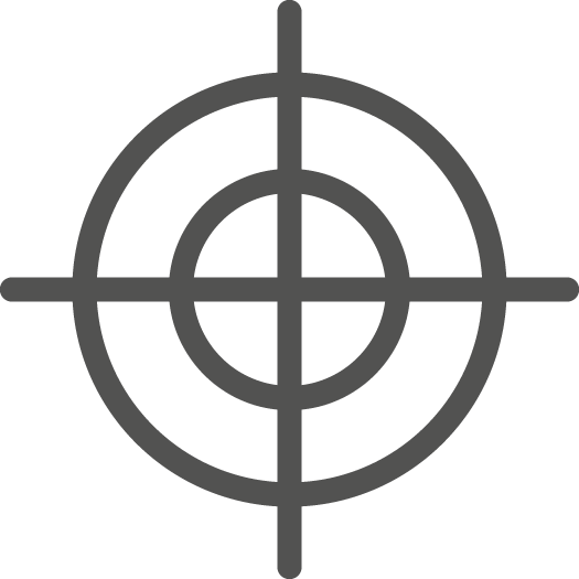 continual service improvement target icon