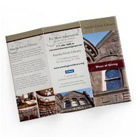 tri-fold brochure design example