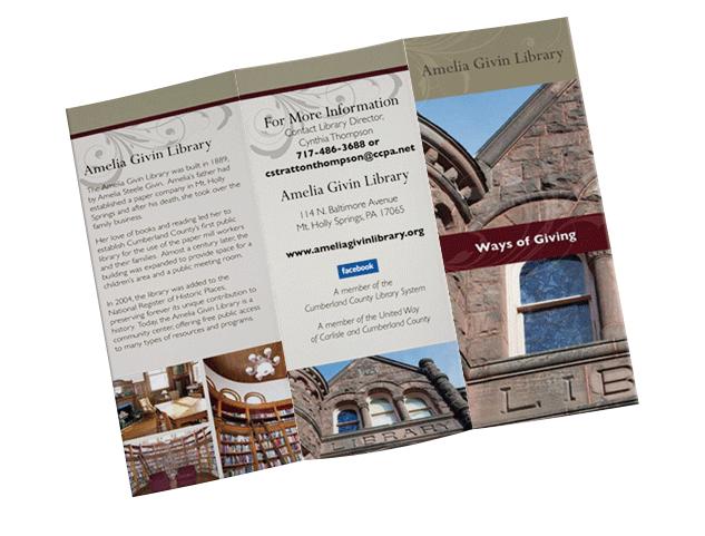 marketing brochure sample