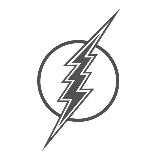 graphic design process lightning bolt icon