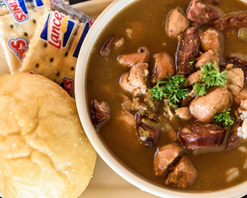 Appetizer Size Gumbo