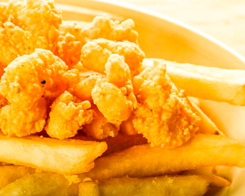 Kid's Popcorn Shrimp (12-15)
