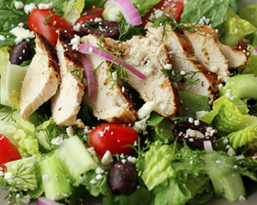 Grilled Chicken Breast Salad