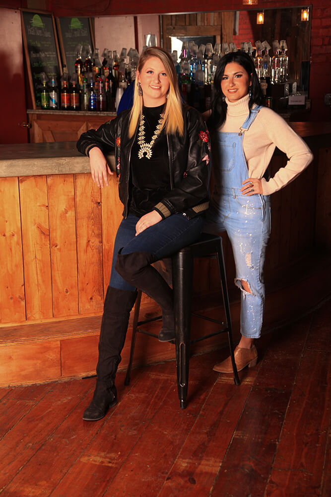 Five years after graduating high school and their first audition for The Voice, things are moving a bit slower and that's fine by Madi (left) and Alaska, as they're settling into their lives. (Photo: Marc Rains)