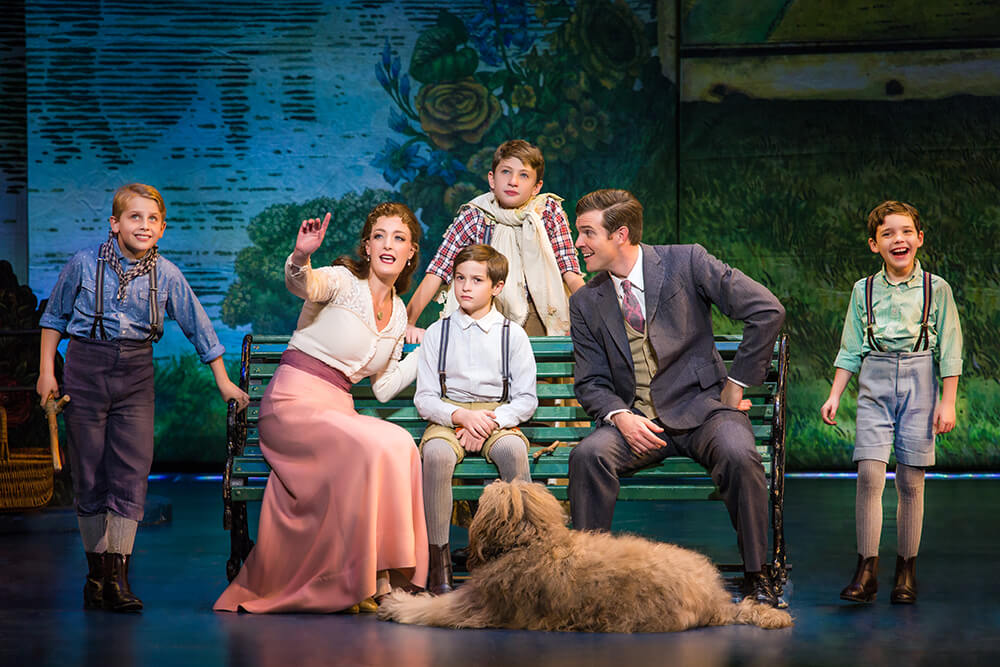 After 17 months on Broadway, the production of Finding Neverland closed on Aug. 21, 2016, and began a U.S. national tour in October 2016. (Photo: Jeremy Daniel)