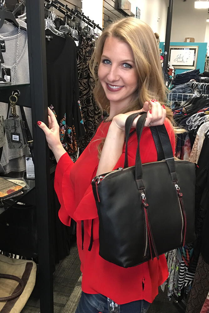 For the most part, Jules Boutique offers brands not carried by big box stores or in some cases other boutiques in Oklahoma.