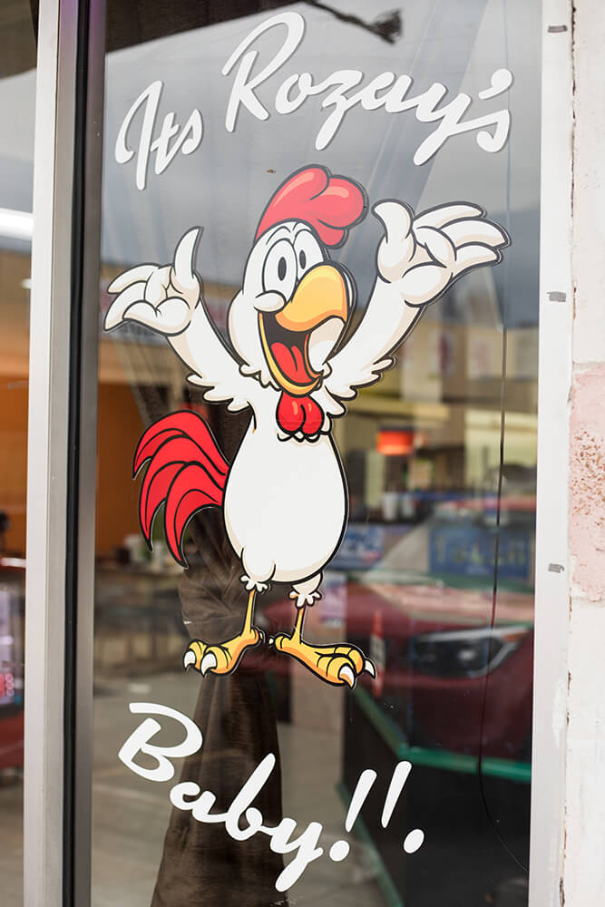 Nestled at the far end of an unassuming strip mall, Rozay's looks like just another diner. But wait until you get your hands on those wings, and you'll be a believer. (Photo: Valerie Grant)