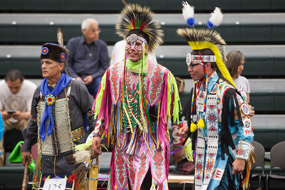 The past, present and future all come together for American Indian culture at the 46th Annual Symposium on the American Indian at Northeastern State University in Tahlequah April 16-21. (Photo: Pete Henshaw)
