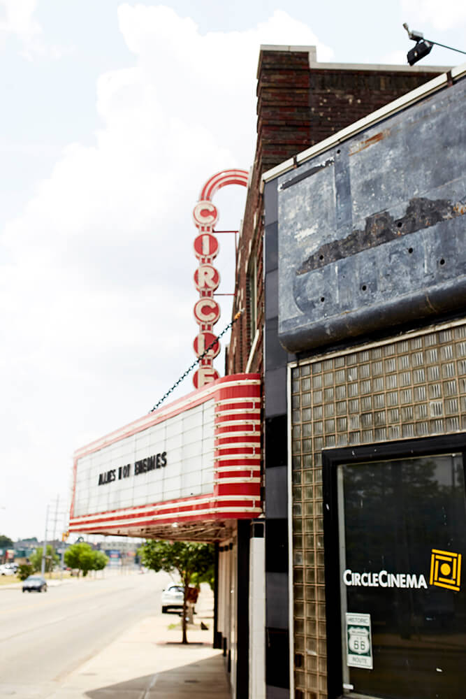 Circle Cinema is on the National Register of Historic Places. (Photo: Sarah Eliza Roberts)
