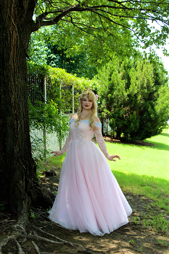 Allen started her own business, The Storybook Princesses, dressing up for children's parties. (Photo: Chelsi Fisher)