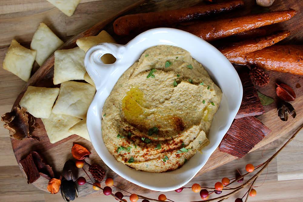 Butternut Squash Hummus (Photo: Chelsi Fisher)