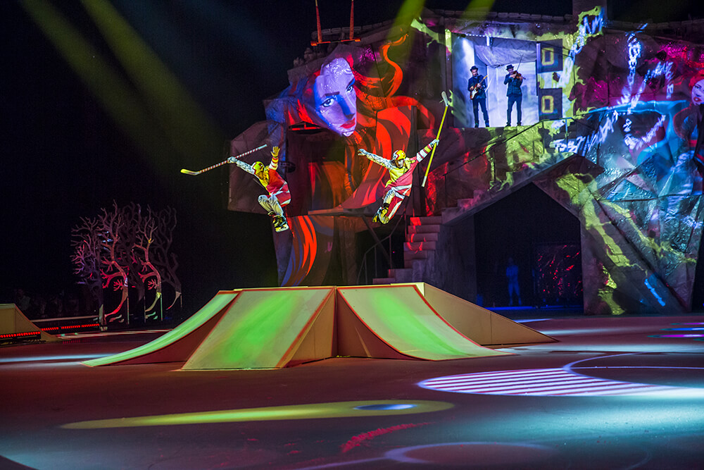 Cirque du Soleil's latest excursion through Tulsa will be the unique performance, Crystal, which blends Cirque's well-known acrobatic style with skating performances to offer Green Country residents a show like they've never seen before.