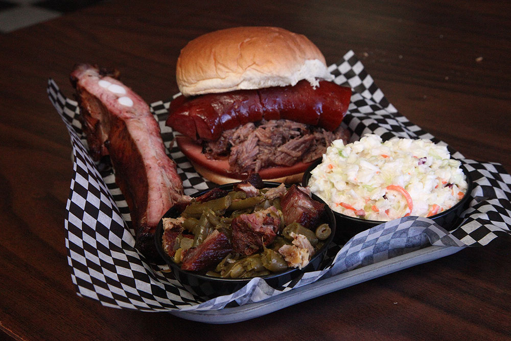 For some of the sweetest sauce and most tender meat, Elmer's BBQ is Brookside's barbecue beast. (Photo: Marc Rains)