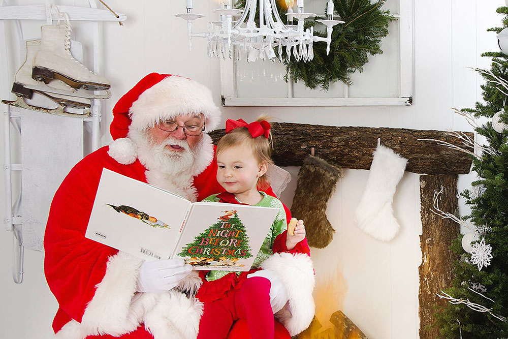 Whether or not a man in a red suit slides down your chimney, bestowing dozens of presents for your tykes, there is Christmas magic that you have the power to unleash in your household. (Photo: Kelli Greer)