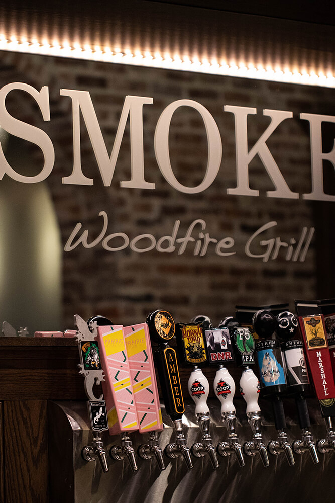 SMOKE. is a special treat for dinner, with unusually imaginative dishes interspersed with familiar classics. (Photo: Valerie Grant)